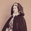 Belgian woman wearing cloak