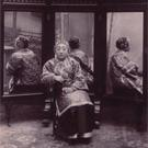 Chinese woman with mirrors