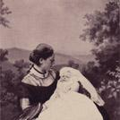 Princess of Leiningen and baby