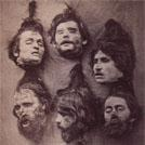 Severed heads of Greek brigands
